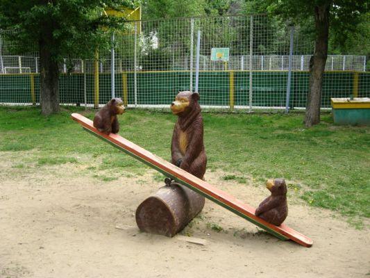 Качели балансир для детей своими руками из дерева