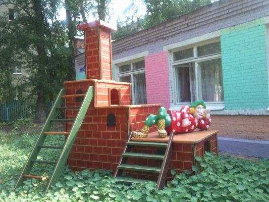 Печка для площадки детской