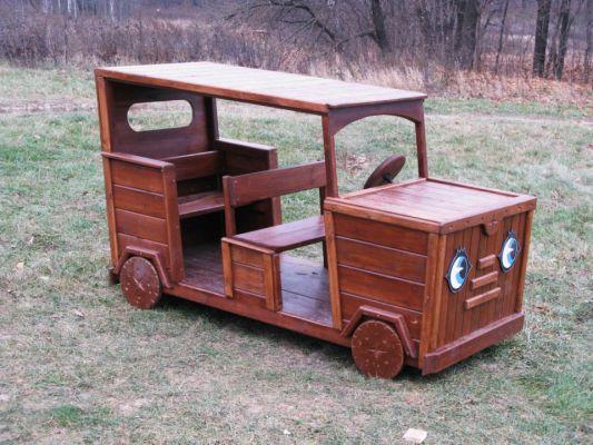 Деревянная машина своими руками фото